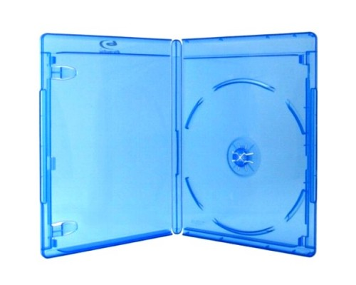 Бокс для  1 Blu-Ray диск, (11мм) синий