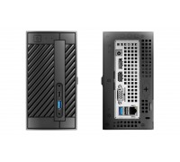 Неттоп ASRock DESKMINI 110 Intel Pentium G4560 3,5GHz 2core HT, 4Gb DDR4-2133 (up 32Gb), 2,5